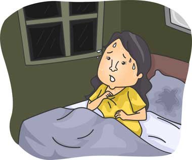 nocno znojenje